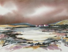 Isle of Arran, Dusk SOLD
