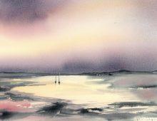 Arran Dusk III (Print) £150