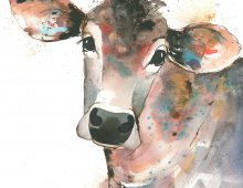Clarissa Cow (Ltd Edition Print) £75