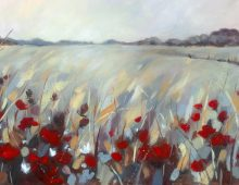 Grasses and Poppies (Ltd Edition Print) £320