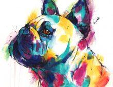 French Bulldog II (Print) £50