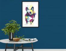 French Bulldog Print (£50)