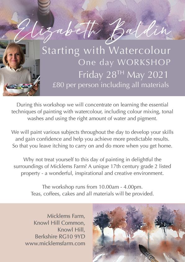 Beginners Watercolour Workshop