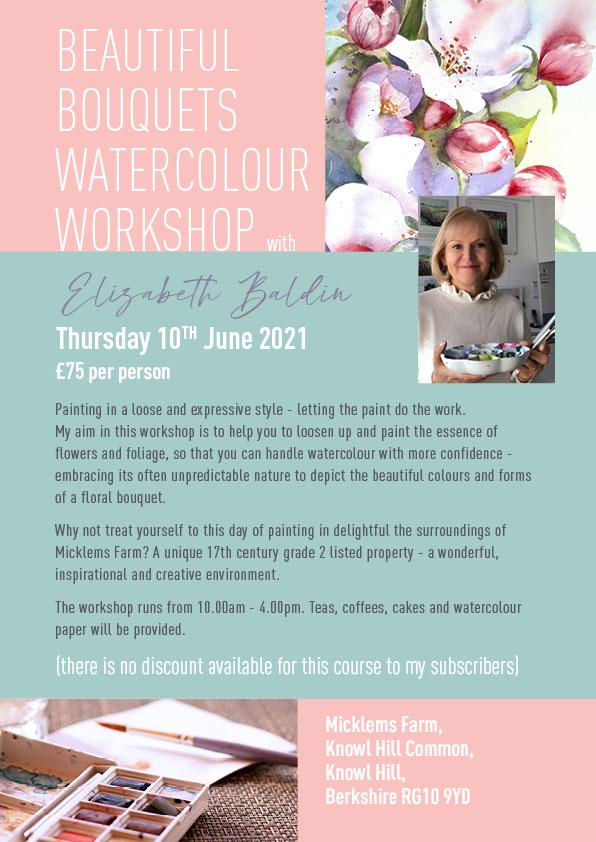 Floral Watercolour Workshop